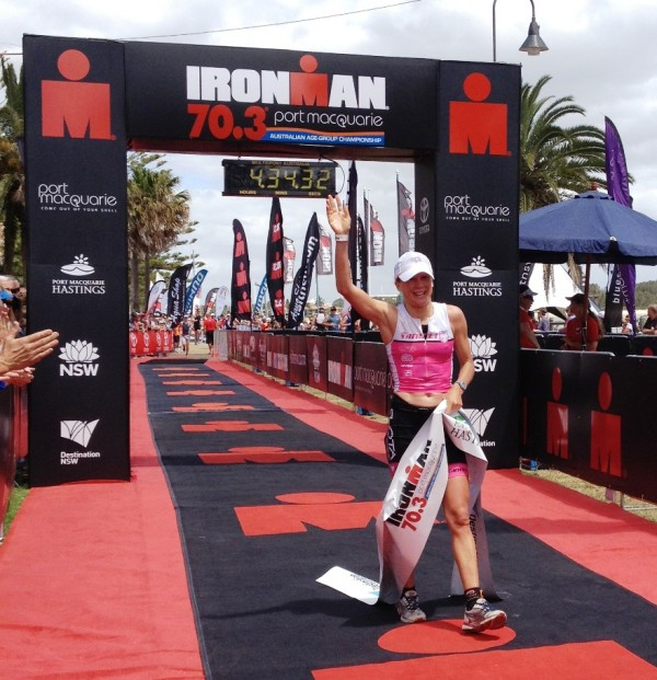 Britta Martin Smashes Ironman 70.3 Port Macquarie