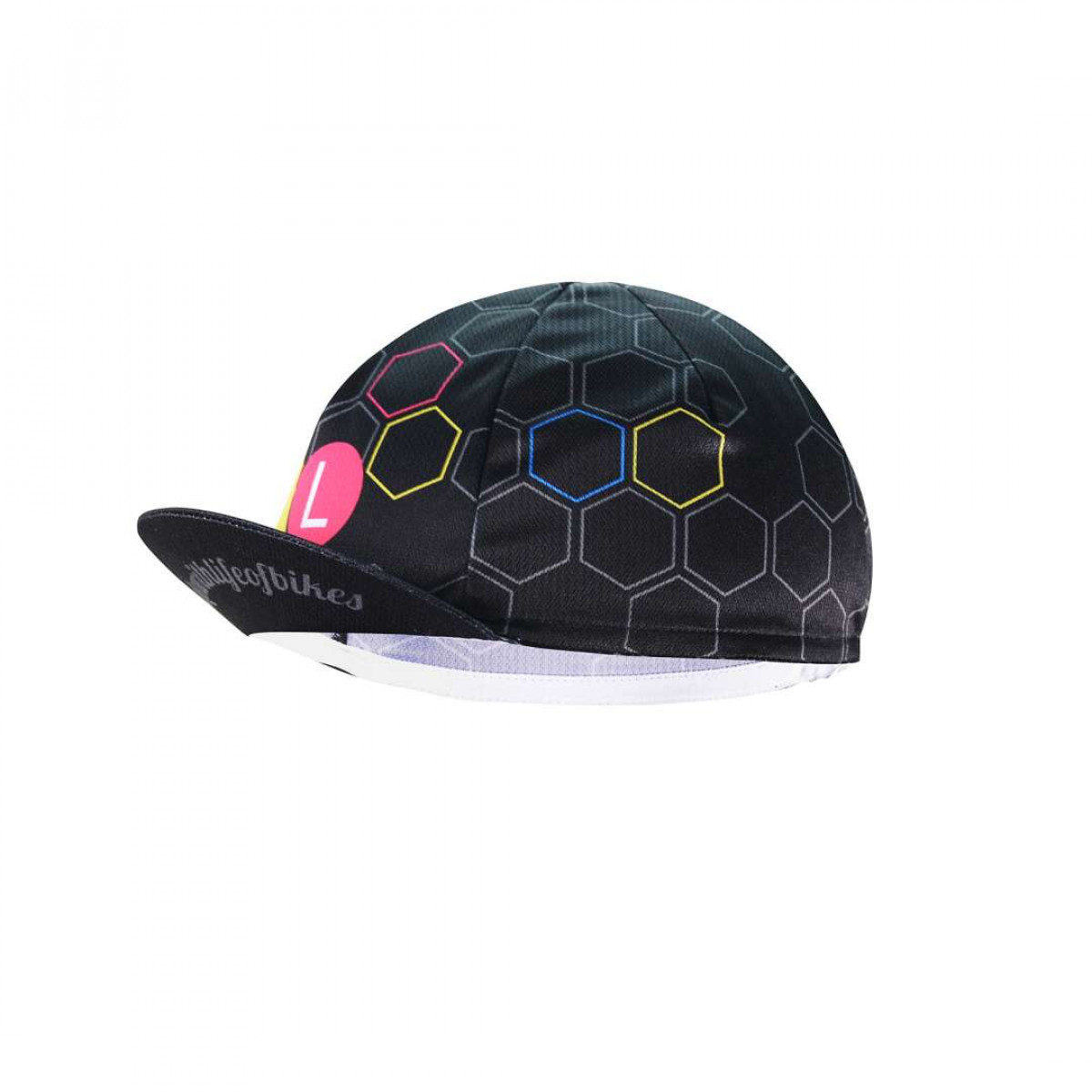 LifeofBikes ACC0011 Left2 WEB Cycling Cap