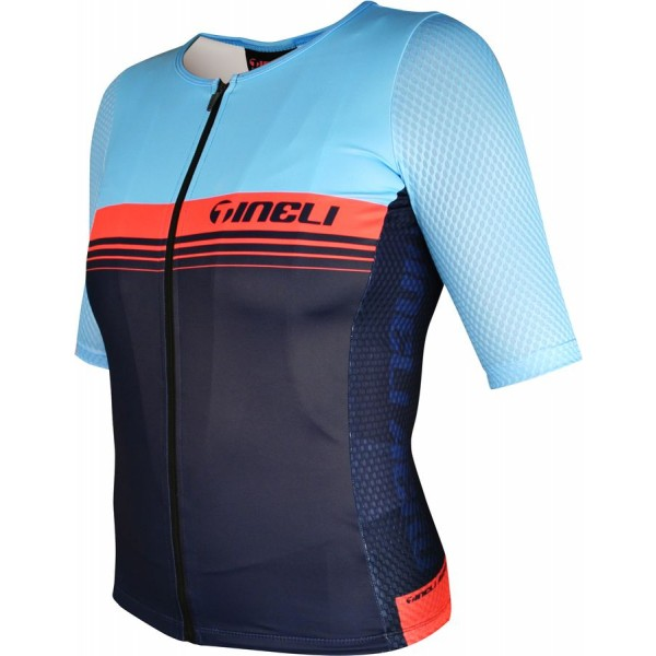 Aero ONE Race Jersey Blue/Salmon