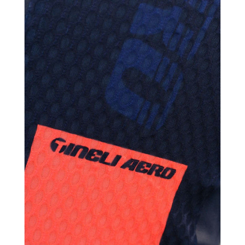 362 Aero One jersey feature 3 Aero ONE Race Jersey Blue/Salmon
