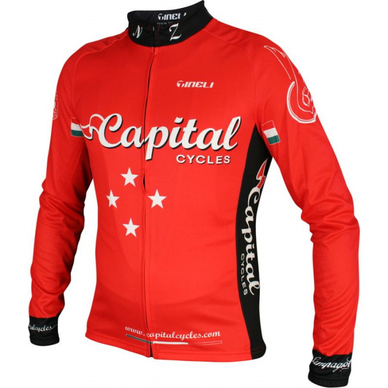Capital2013 ls jersey red Sport Long Sleeve Jersey