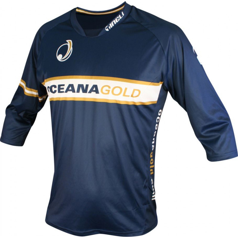 oceanagold mtb 3/4 Sleeve Trail Jersey