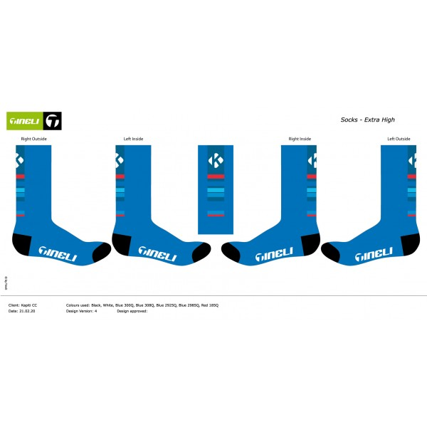 Sublimated Sock Long