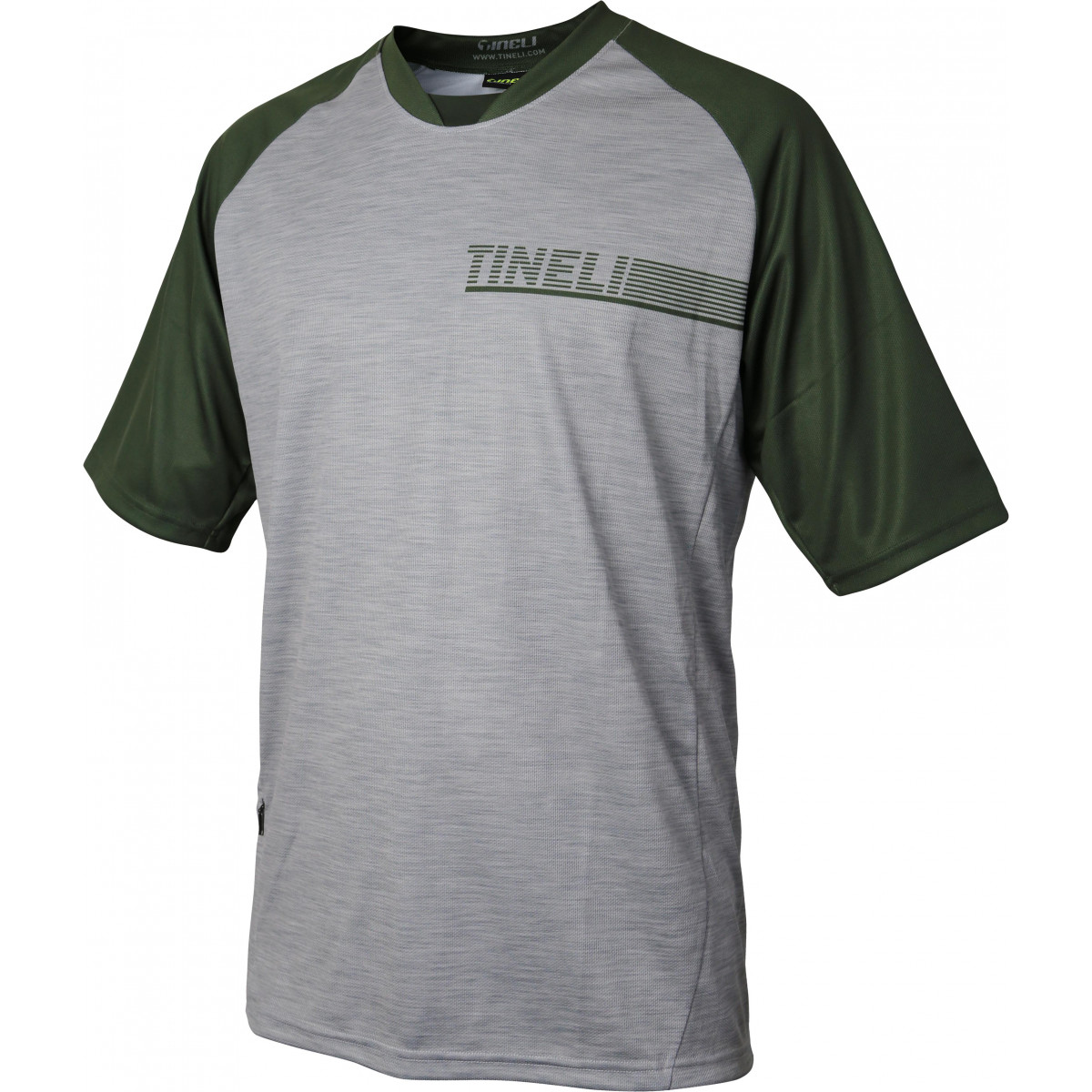 Tineli18 trailjersey olive Men's Olive SS Trail Jersey