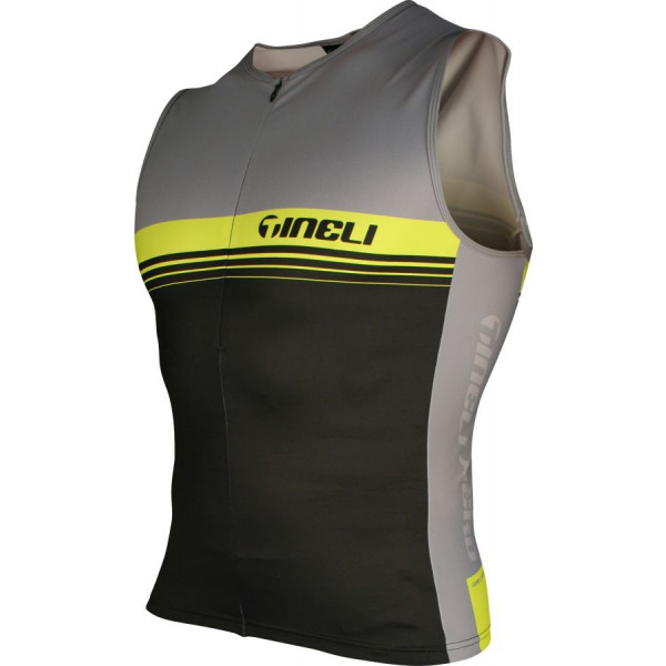 Yellow Tri Top Men's